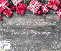 christmas sewing roundup