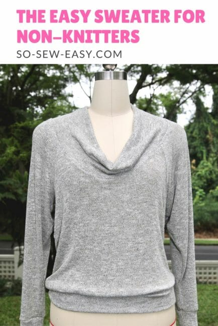 easy sweater pattern