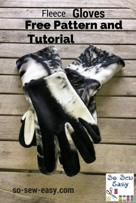Easy Gloves Pattern for Your Winter Comfort