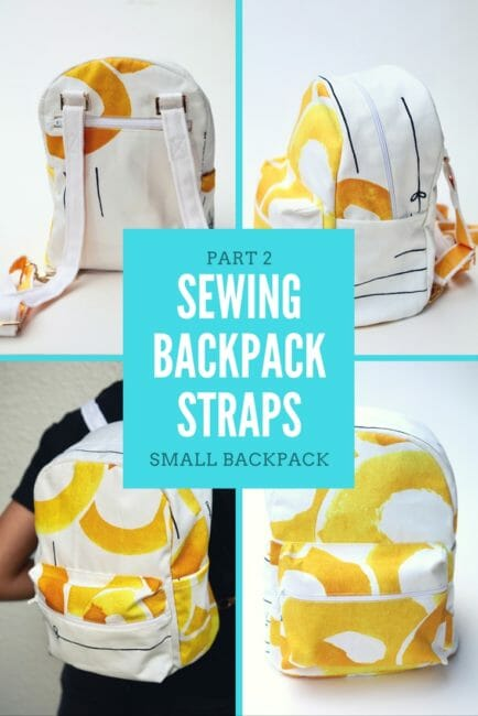 sewing backpack straps