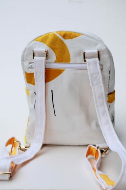 small backpack pattern