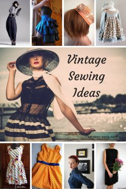 Vintage Sewing Ideas