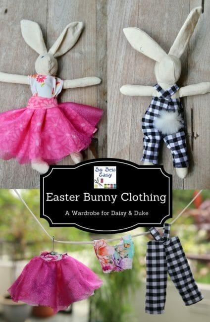 Easter Bunny Clothing: a Wardrobe for Daisy & Duke
