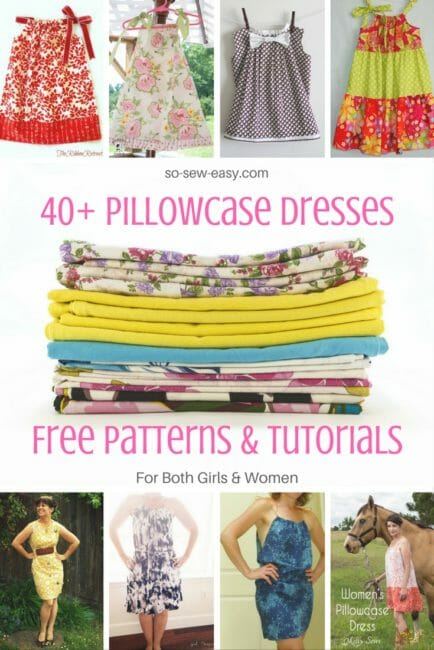 40+ Pillowcase Dresses Free Patterns and Tutorials