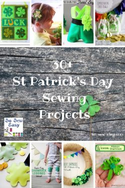 st patricks day sewing