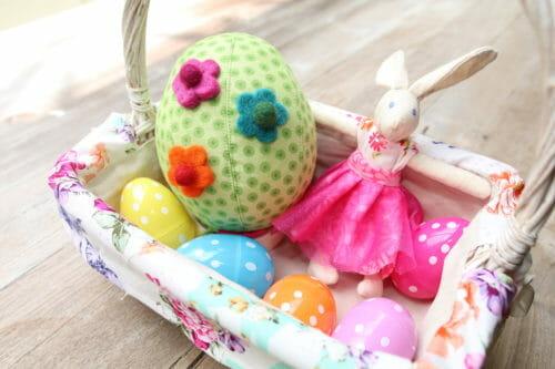 fabric easter egg