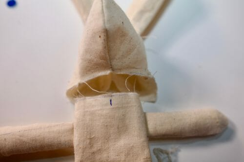 fabric Easter bunny