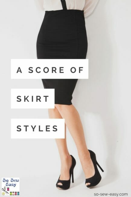 A Score of Skirt Styles: Did You Know There Were So Many?