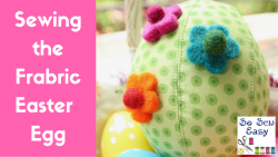 fabric easter egg video tutorial