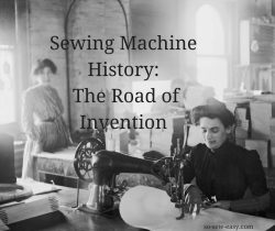 sewing machine history