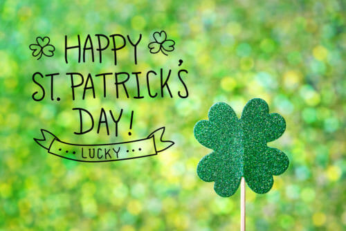 st patrick's day sewing