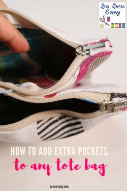 add extra pockets