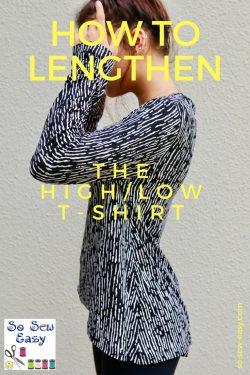 lengthen t-shirt