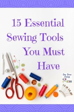 essential sewing tools