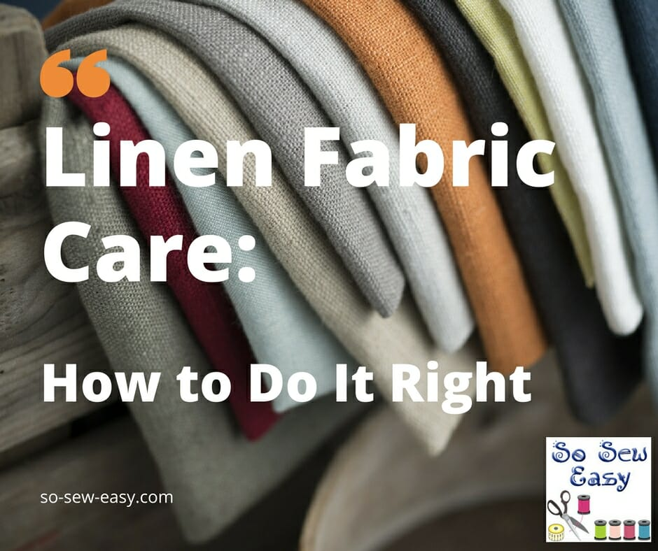 Linen Fabric Care