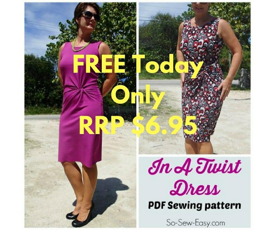 dress pattern giveaway