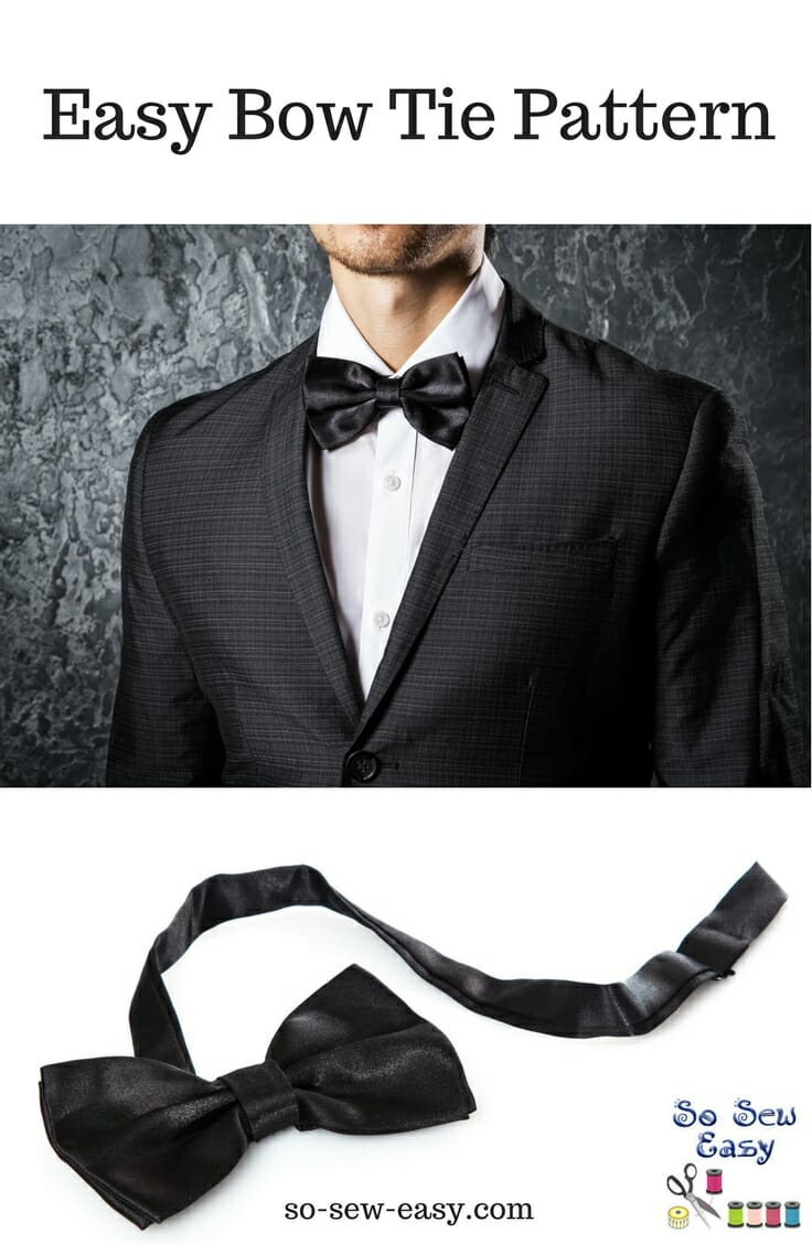 Bow Tie Sewing Pattern Custom Inspiration Design