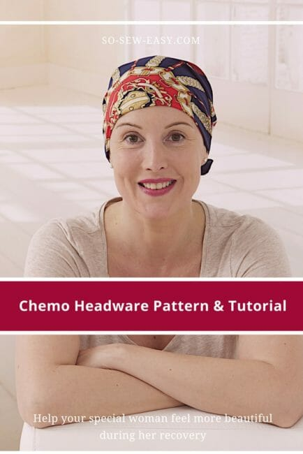 7f35f5d6d24 Chemo Hats   Scarfs  20+ FREE Sewing Patterns - So Sew Easy