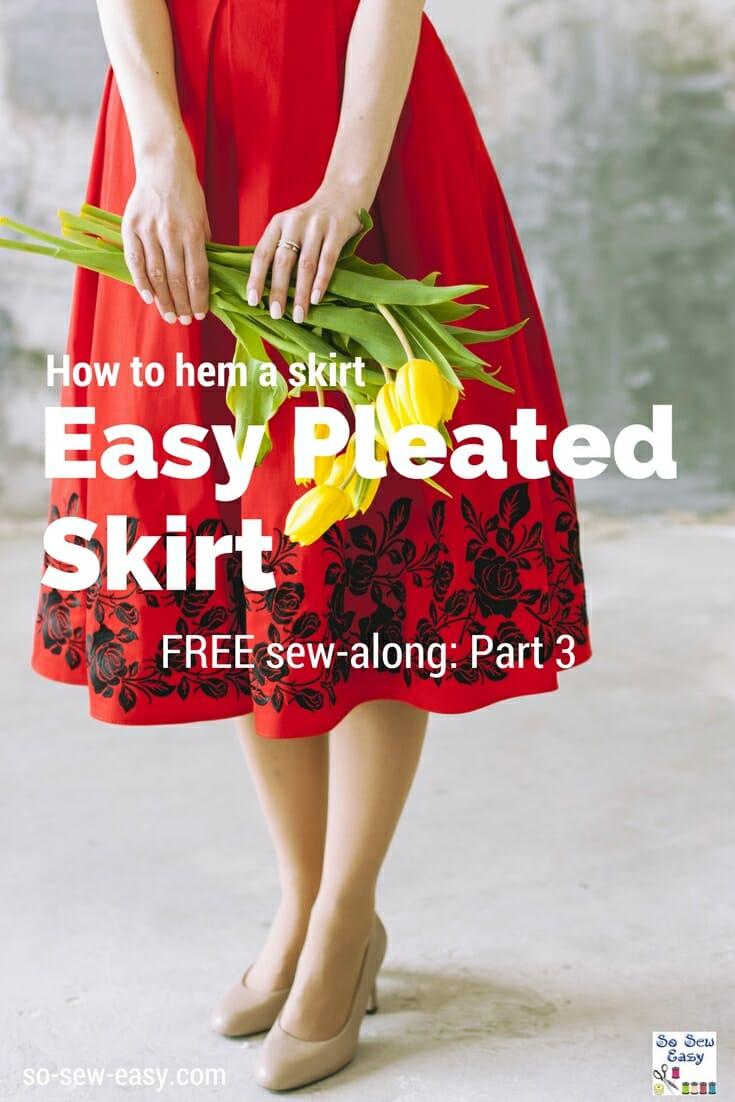 hem a skirt