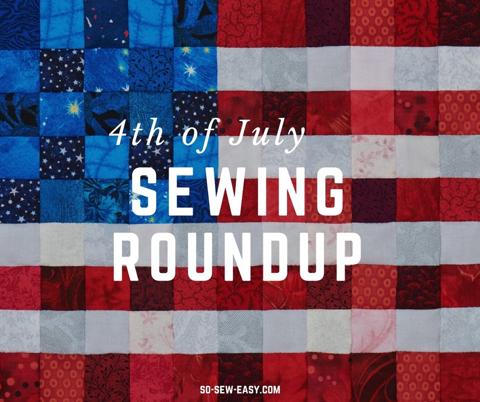 4th of july sewing