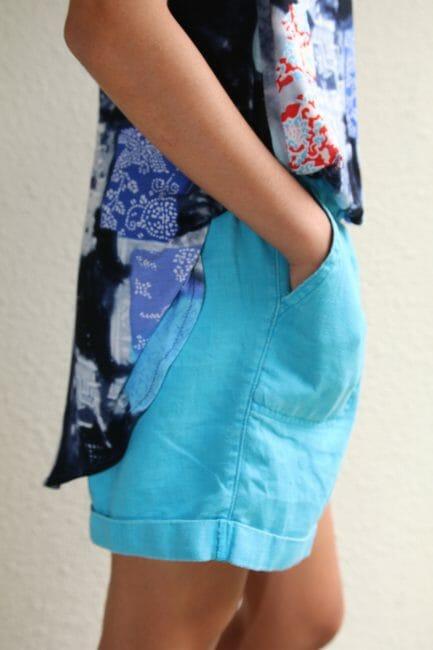 walking shorts pattern