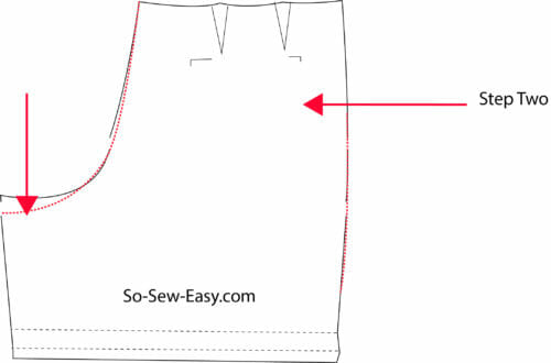 408164450a Walking Shorts Pattern   Sew-Along - Part One - So Sew Easy