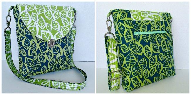 Crossbodybagpattern40 So Sew Easy Delectable Cross Body Bag Pattern