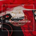 tasteful clothing embellishment