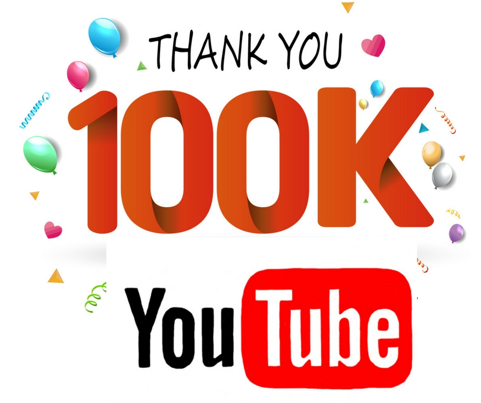 e8a1428e70 A Big  Thank You  to All Our Subscribers  100K YouTube Subs! Yeah ...