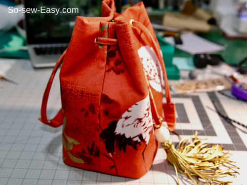 bucket bag tutorial