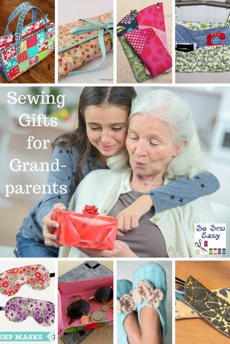 sewing gifts for grandparents