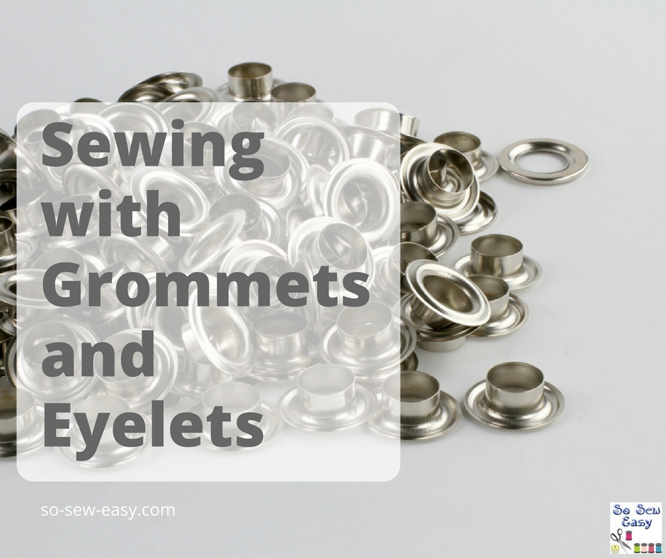 sewing with grommets
