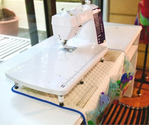 sewing mat organizer