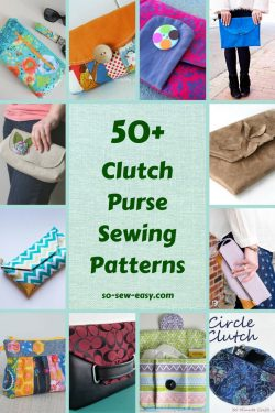 Clutch Purse Sewing Patterns