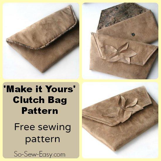 clutch bag pattern