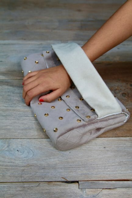 soft clutch bag pattern