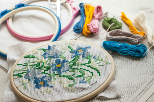 Cross Stitch for Beginners: Start Your New Hobby