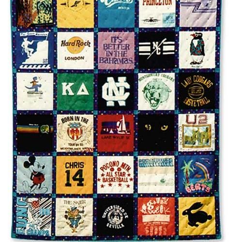 How to Make a Keepsake Quilt from Old T-Shirts