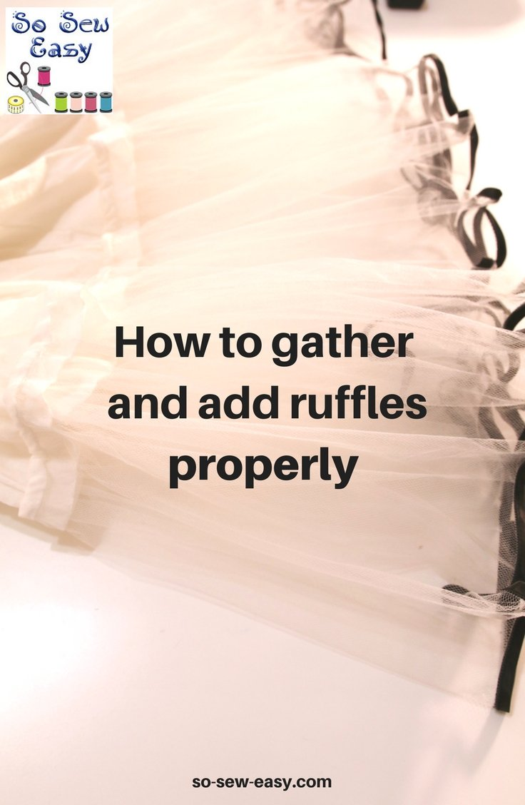 add ruffles properly