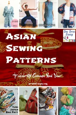Asian Sewing Patterns