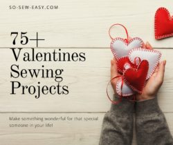 valentines sewing