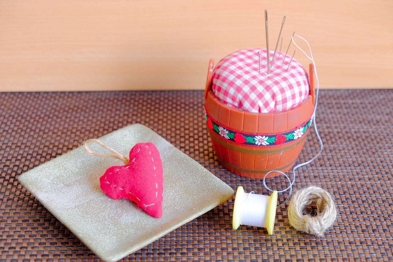 valentines sewing