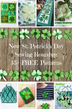 St. Patrick's Day Sewing