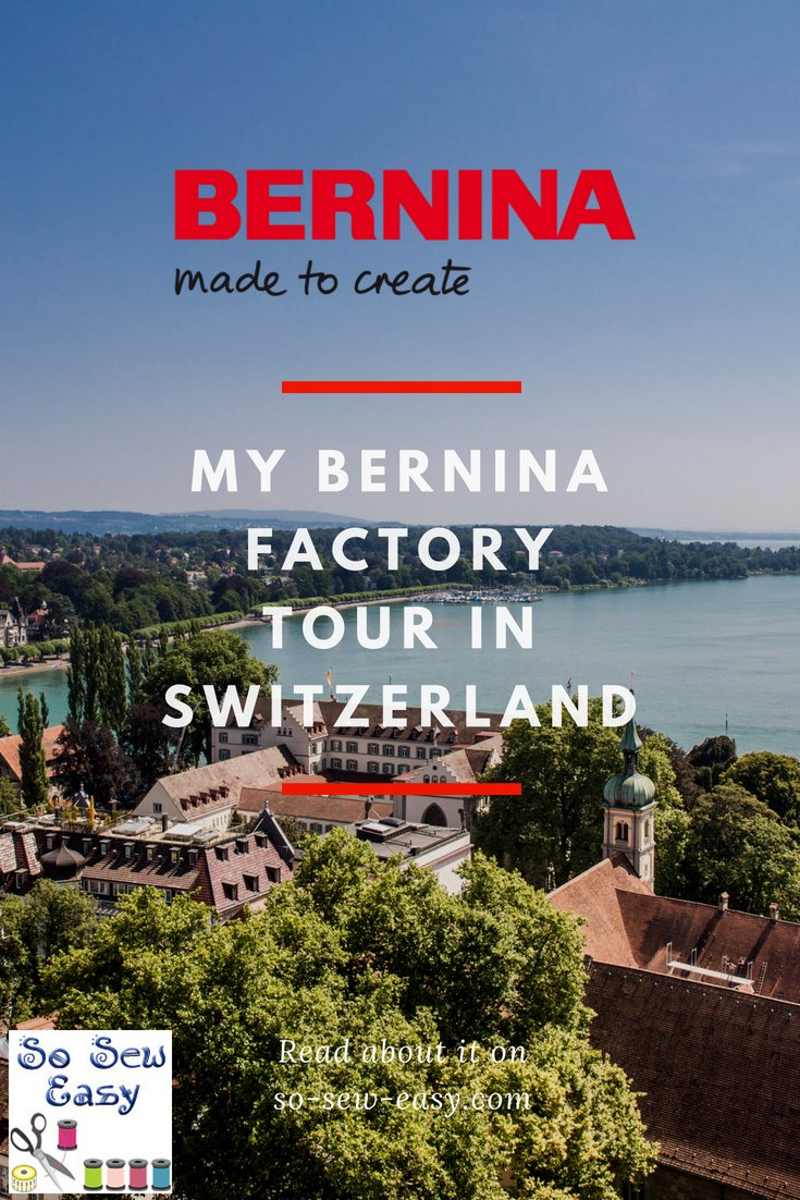 bernina factory tour