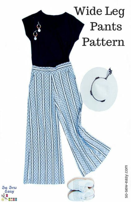 Wide Leg Pants Pattern – How To Elongate Your Figure