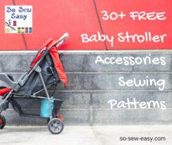 stroller accessories patterns