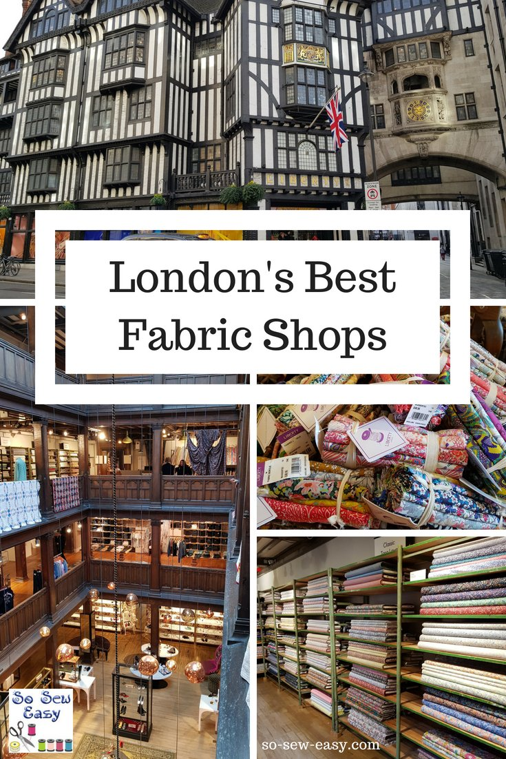 London's best fabric shops