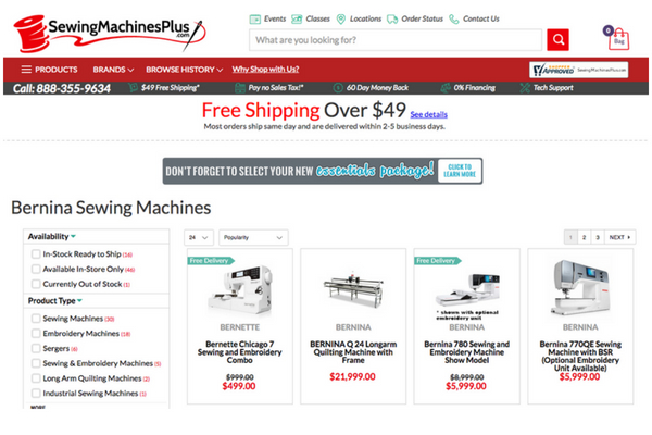 Sewingmachinesplus So Sew Easy Inspiration Sewing Machines Plus