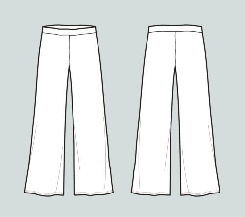 Wide Leg Pants Pattern How To Elongate Your Figure So Sew Easy Stunning Palazzo Pants Pattern