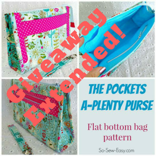 FREE $6.95 Pockets A-Plenty Pattern Giveaway Extended
